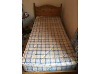 Single Guest bed and 2x Mattresses