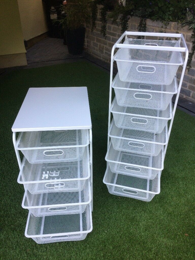 2 sets of Ikea Algot Mesh Storage Baskets | in Drybrook, Gloucestershire |  Gumtree