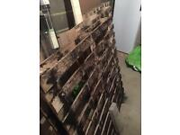 4 FREE 120cm x 120cm wood pallets.