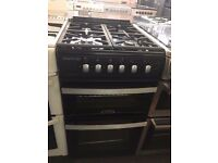 50CM BLACK ZENITH GAS COOKER