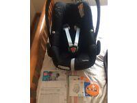 Maxi Cosy pebble plus car seat