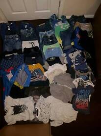 Assortment of boys clothes ages from 2-4