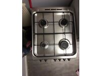 indesit gas cooker with gas hobs
