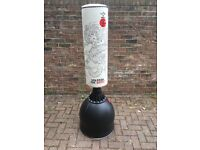 GALLANT WHITE - DRAGON FREE STANDING BOXING PUNCH BAG STAND