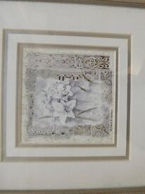 Tetouan Lily Picture in Frame