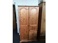 Solid pine wardrobe free local delivery