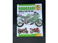 Kawasaki ZX600 Haynes Manual 1995-2002 636 ZX6R Workshop Manual