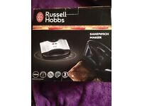 NEW SANDWICH MAKER RUSSELL HOBBS