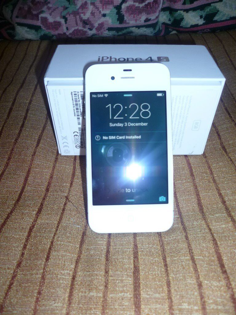 Apple iPhone 4S 8GB in White