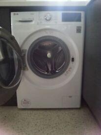 LG True Steam 8.5 kg Washing Machine.