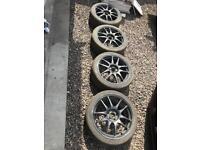 "Rota Torque 17"" Alloys & Track Tyres"