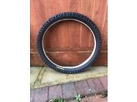 BMX style bike tyre
