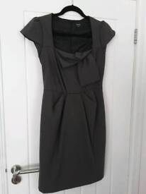 OASIS size 10 dark grey dress. Never worn. Collection from Filton BS34 7QF