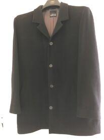 Thomas Nash black woollen coat- Great condition!