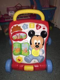 Disney baby multi-activity walker