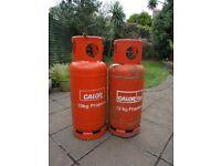 Two 19kg Calor Gas Bottles