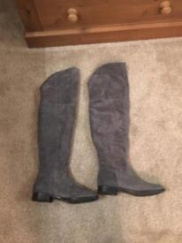 Size 5 Grey Next Boots