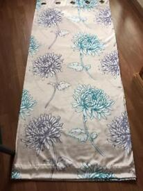 Next lined ring top curtains 66x 72