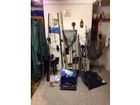Fishing Equipment . Some sold still have various items left so price reduced.