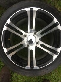 Selling my 14 inch quad wheels as not needed bought them but not suitable