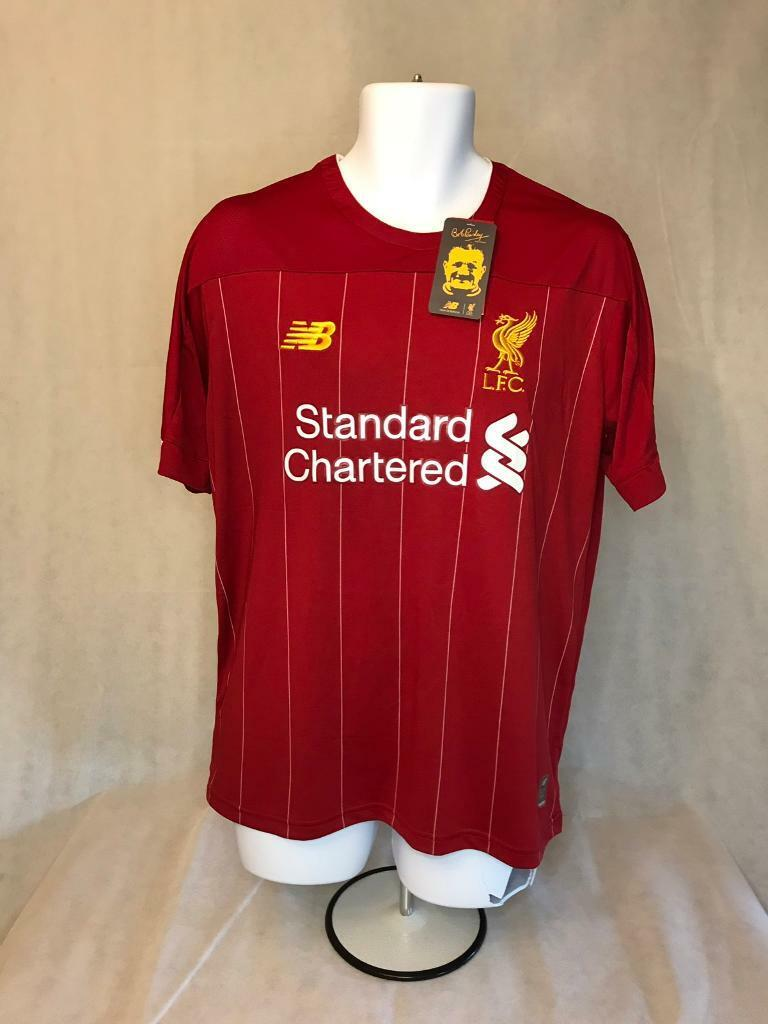 good b363b f7b76 Liverpool FC 19/20 Home Kit Champions League Badges Brand New With Tags |  in Machen, Caerphilly | Gumtree