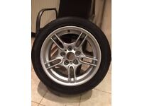 "BMW E39 17"" M Sport Style 66 Alloy Wheel Tyre ***LIKE NEW CONDITION***"