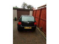 Volkswagen Golf 1.6SE - (2002)BLACK-5 DOOR- MOT- 65,000 Miles -EDINBURGH UK