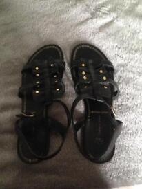 Black Sainsbury's shoes 5