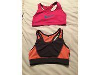 Two gym tops size 8!