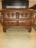 Brown ottoman for sale