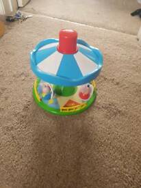 Peppa pig Merry go round toy/game