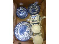 Full set of England Churchhill china