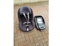 Maxi-Cosi FamilyFix Base Group 0+/1 Car Seat Base + Pearl Car Seat