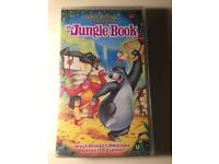 "Walt Disney Classics "" THE JUNGLE BOOK"" VHS Tape"