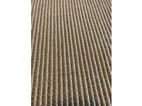 Jute boucle natural carpet and underlay