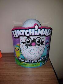 Hatchimal Teal Egg