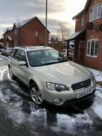 Subaru outback 3.0 SE facelift in Gold 4x4 FSH, fully loaded, 13 mth MOT