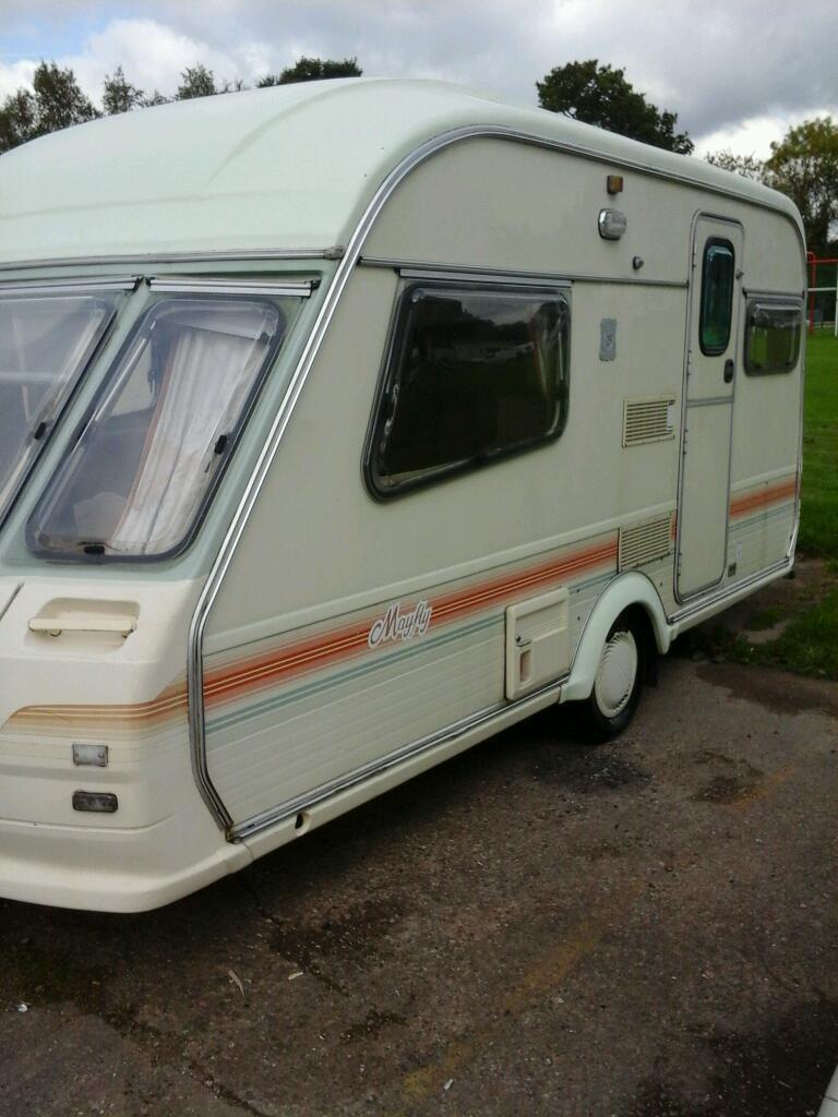Avondale Mayfly 1993 2 Berth Caravan Good Condition In
