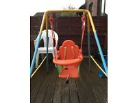 Infant outdoor swing