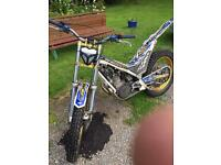 Sherco 125 trials bike