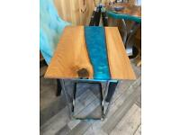 Bespoke bed/armchair table