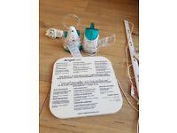 Baby breathing alarm system / baby monitor