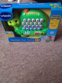 Brand New Vtech Number Fun Turtle