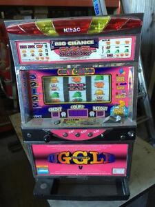 JUGGLER Digital LCD Japanese Pachislo Skill Stop Slot Machine