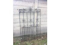 Large Tall Side Entrance Garden Gate ring malc