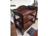 Boori wooden baby change unit