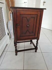 Hall/telephone/bedside table - Antique