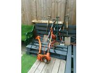 Selection of old tool including 2 strimmers
