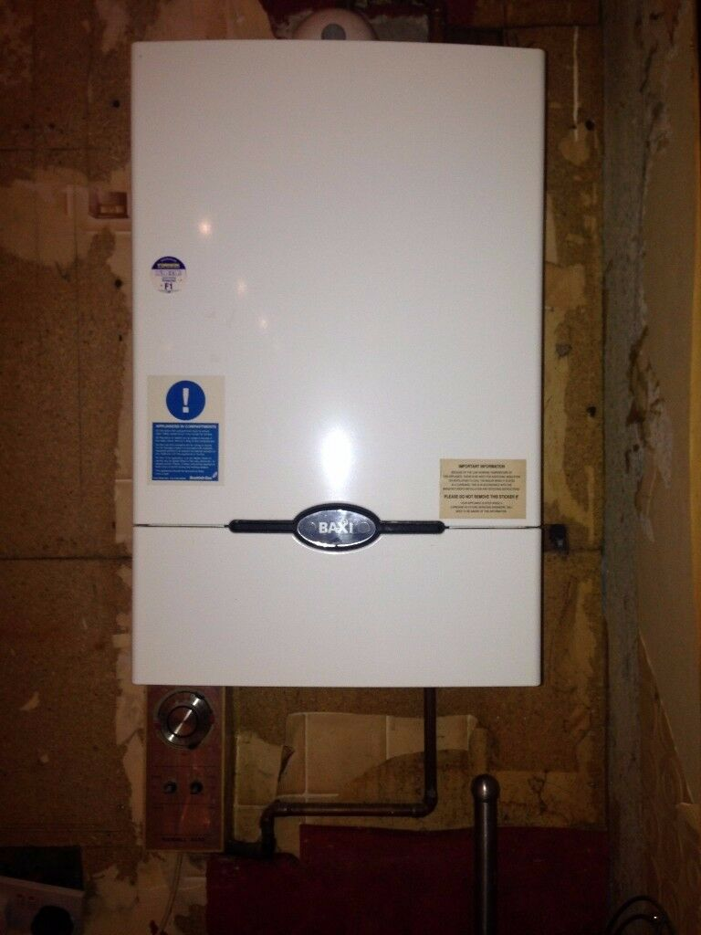 Baxi 100 HE central heating boiler good condtion and in full working order with timer and valves