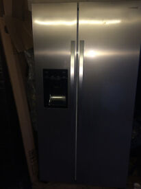 american fridge freezer KENWOOD INOX LOOK with water dispenser ..BRAND NEW...FREE DELIVERY